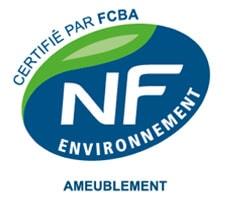 Norme NF Environnement certifiée par FCBA