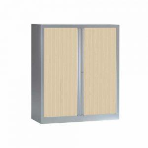 Armoire Série PLUS structure et rideaux aluminium h136 l120