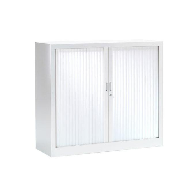 armoire a rideaux 100x120 blanc