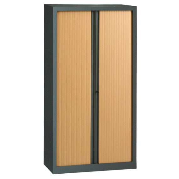 Armoire en KIT à monter H1980 x L1000 anthracite / Hêtre