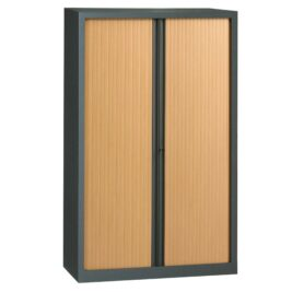 Armoire en KIT à monter H1980 x L1200 anthracite / Hêtre