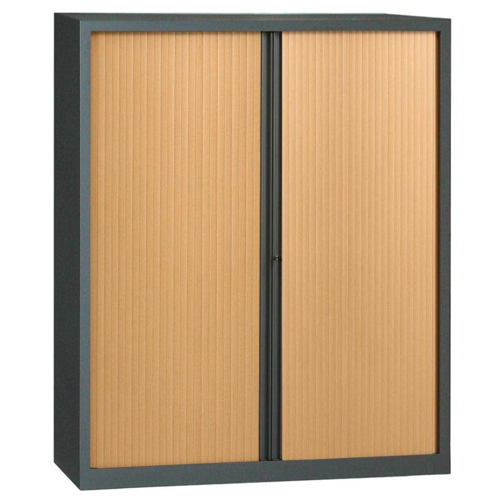 armoire rideaux s rie plus kit h198 l160 armoire plus. Black Bedroom Furniture Sets. Home Design Ideas