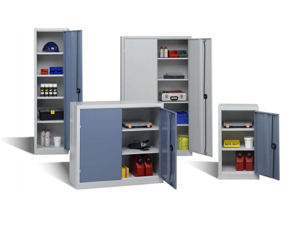 Des armoires d'atelier solides à tous les formats