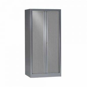 Armoire aluminium rideaux alu Série PLUS h160 l80