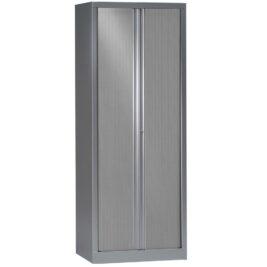 Armoire de bureau série PLUS aluminium h198 l80