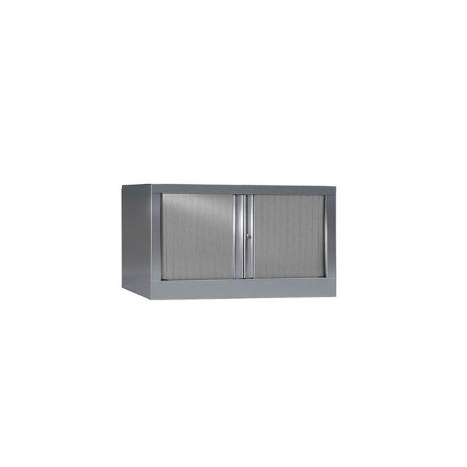 Armoire de bureau Série PLUS aluminium h44 l80