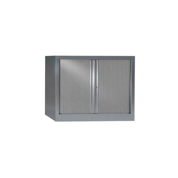Armoire de bureau Série PLUS structure et rideaux alu h70 l100