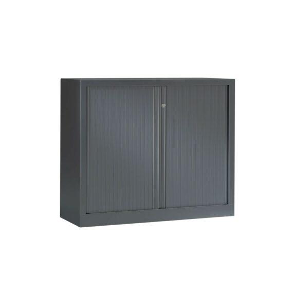 Armoire Série PLUS structure et rideaux anthracite h100 l120