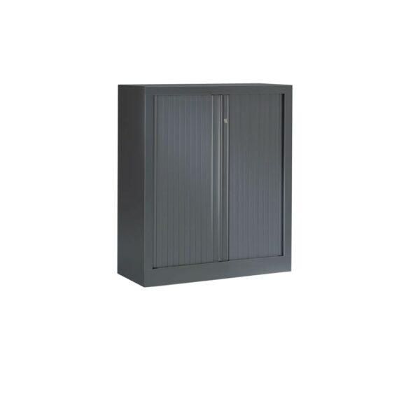 Armoire Série PLUS structure et rideaux anthracite h100 l80