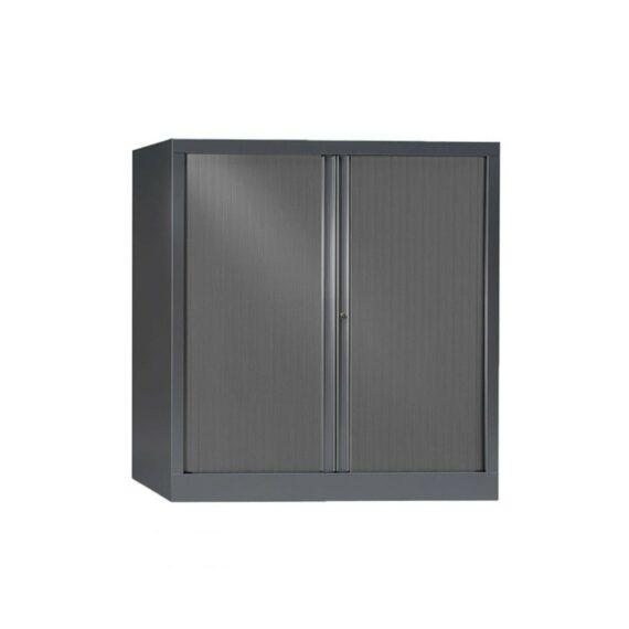 Armoire Série PLUS structure et rideaux anthracite h120 l120