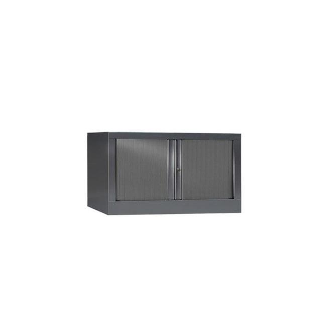 Armoire de bureau Série PLUS anthracite h44 l80