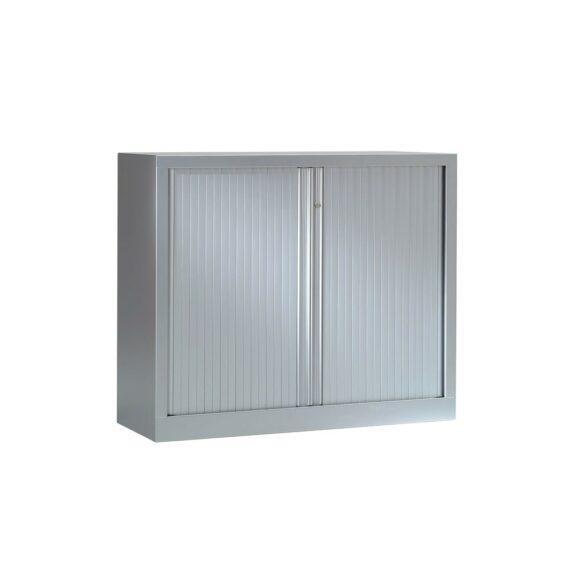 Armoire Série PLUS structure et rideaux gris h100 l120
