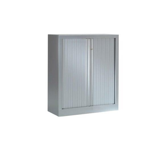 Armoire Série PLUS structure et rideaux gris h100 l80
