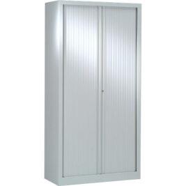 Armoire à rideaux série PLUS h198 l100 gris