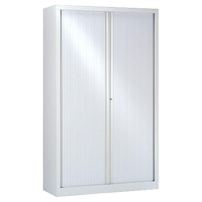 armoire a rideaux blanche