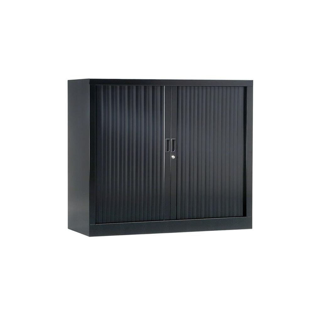Armoire de bureau Série A anthracite h100 l120