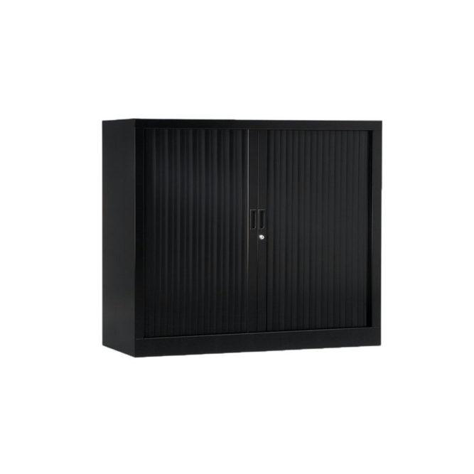 Armoire de bureau Série A Noir h100 l120