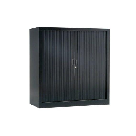 Armoire de bureau Série A anthracite h120 l120