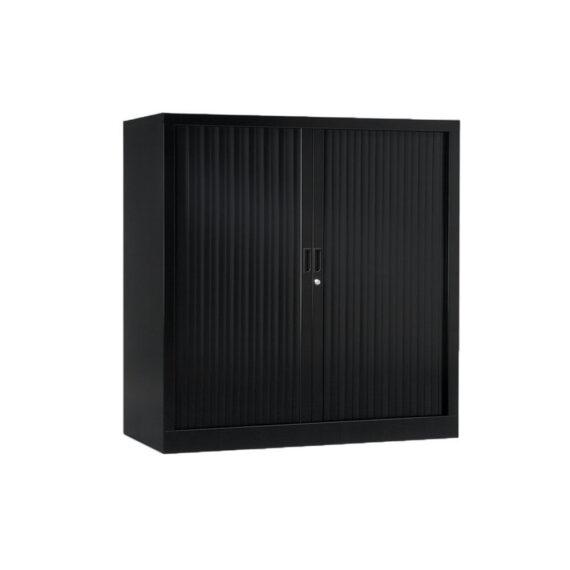 Armoire de bureau Série A noir h120 l120