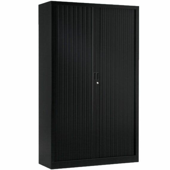 Armoire de bureau Série A Noir H1980 L1200