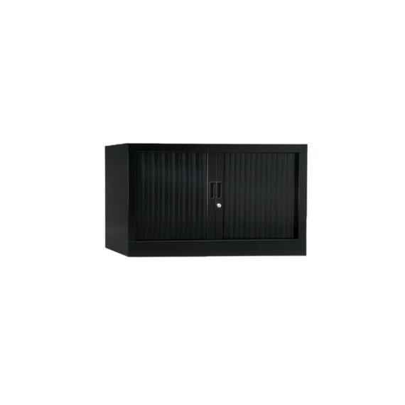 Armoire de bureau Série A noir h44 l100
