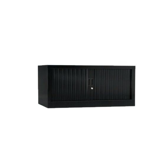 Armoire de bureau Série A noir h44 l120