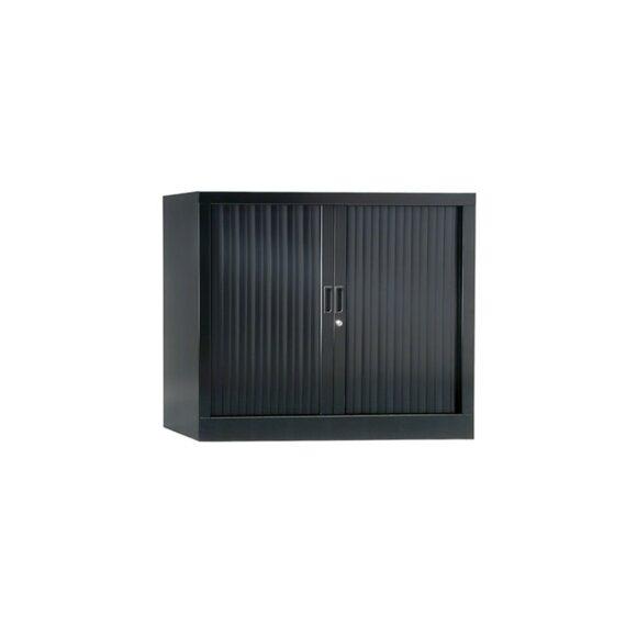 Armoire de bureau Série A anthracite h70 l100