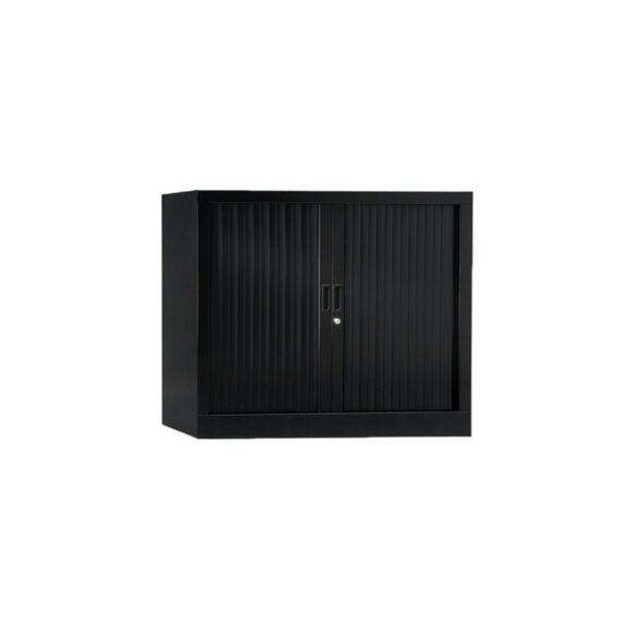 Armoire de bureau Série A noir h70 l100