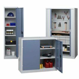 Des armoires d'atelier industrielles