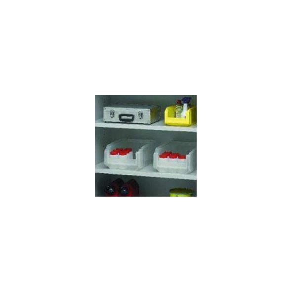 Tablettes d'armoires d'atelier industrielles à rideaux