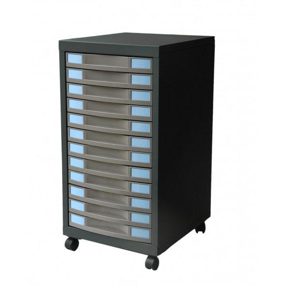 desserte roulettes avec tiroirs armoire plus. Black Bedroom Furniture Sets. Home Design Ideas