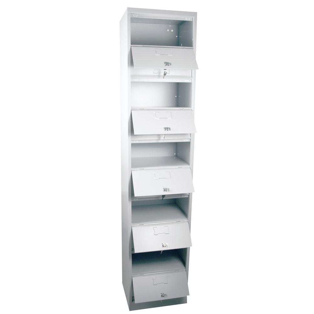 Meuble clapets 10 cases armoire plus for Meuble 2 cases