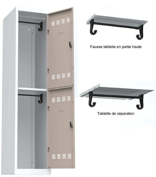fiche vestiaire m tallique armoire plus. Black Bedroom Furniture Sets. Home Design Ideas