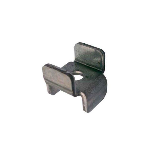 taquet metallique pour tablettes d'armoire