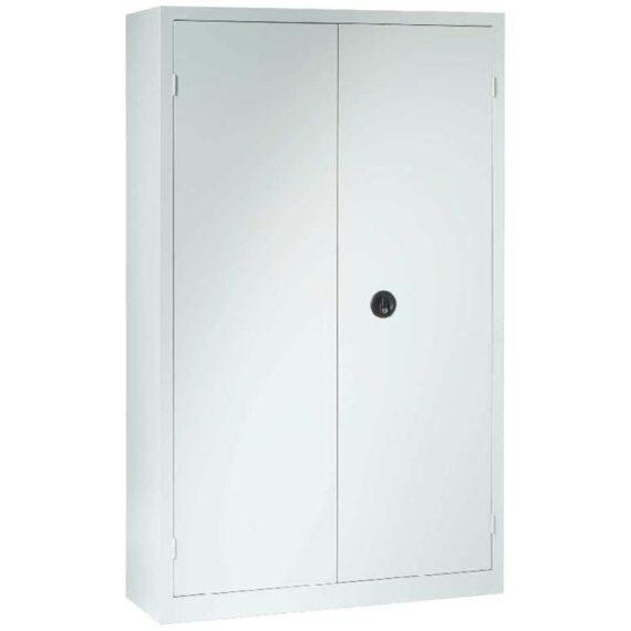 Armoire à portes battantes grise 198 x 120