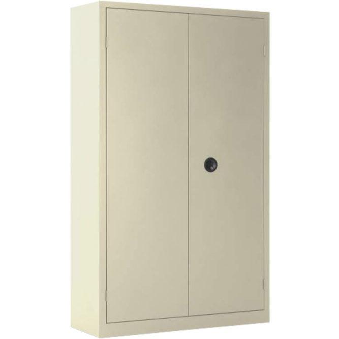Armoire à portes battantes beige 198 x 120