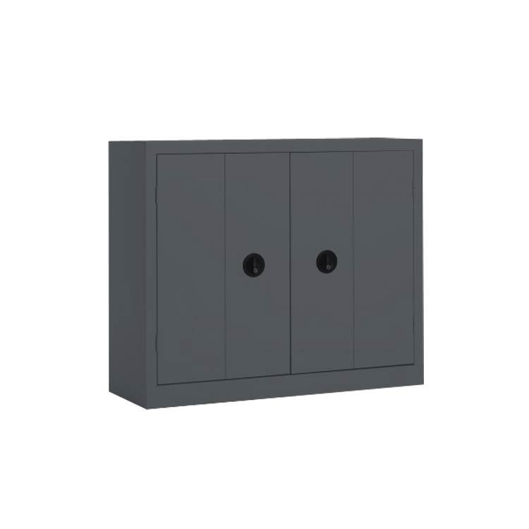 Armoire porte pliante m tallique pour bureau armoire plus for Meuble porte accordeon