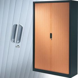 armoire rideaux m tallique pour bureau armoire plus. Black Bedroom Furniture Sets. Home Design Ideas