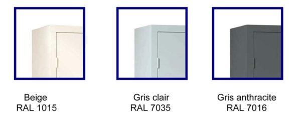 armoire basse portes battantes h100 l90 armoire plus. Black Bedroom Furniture Sets. Home Design Ideas