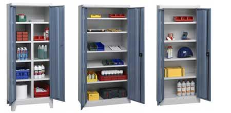 armoire d 39 atelier m tallique industrielle armoire plus. Black Bedroom Furniture Sets. Home Design Ideas