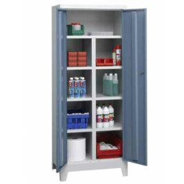 Une armoire d'atelier à 6 compartiments