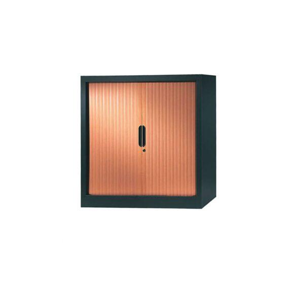 armoire-rideaux-design-100-100-anthracite-merisier