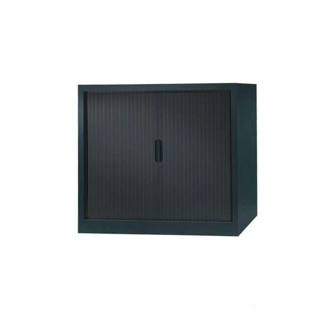 armoire a rideaux 100x120 anthracite