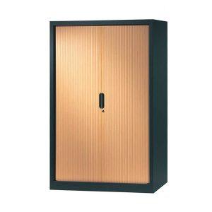 armoire a rideaux 160x120 anthracite pommier