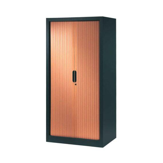 armoire-rideaux-design-160-80-anthracite-merisier copie
