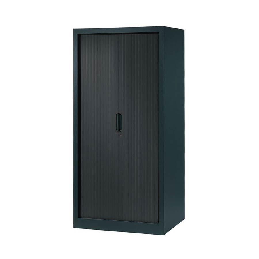Armoire rideau largeur 80 hauteur 160 armoire plus for Armoire de bureau design