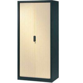 armoire-rideaux-design-198-100-anthracite-erable
