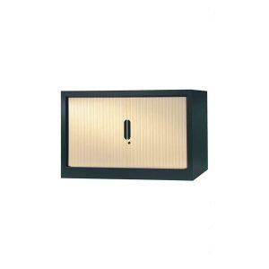 armoire a rideaux 70x120 anthracite erable