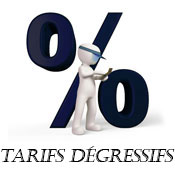 Tarifs degressifs