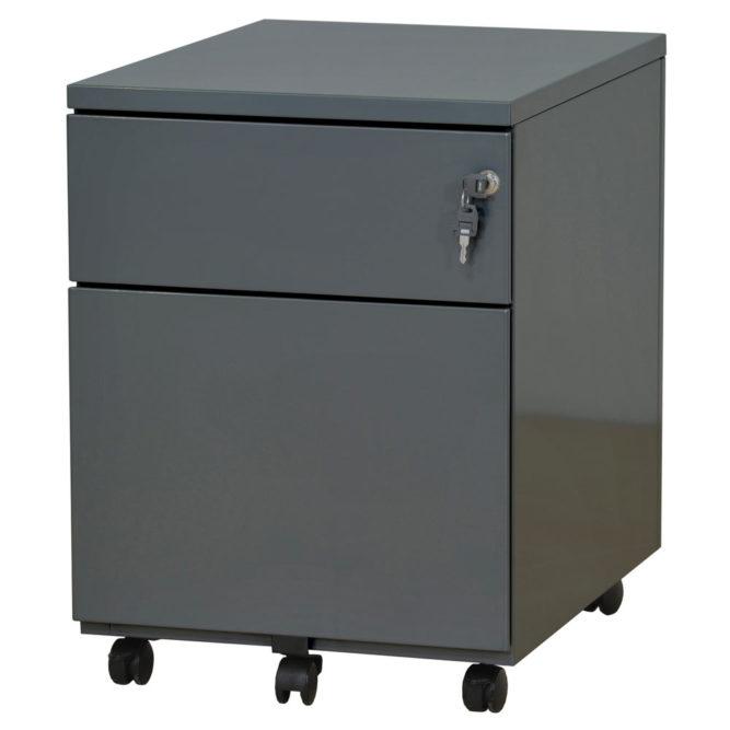 caisson-mobile-2-tiroirs-anthracite